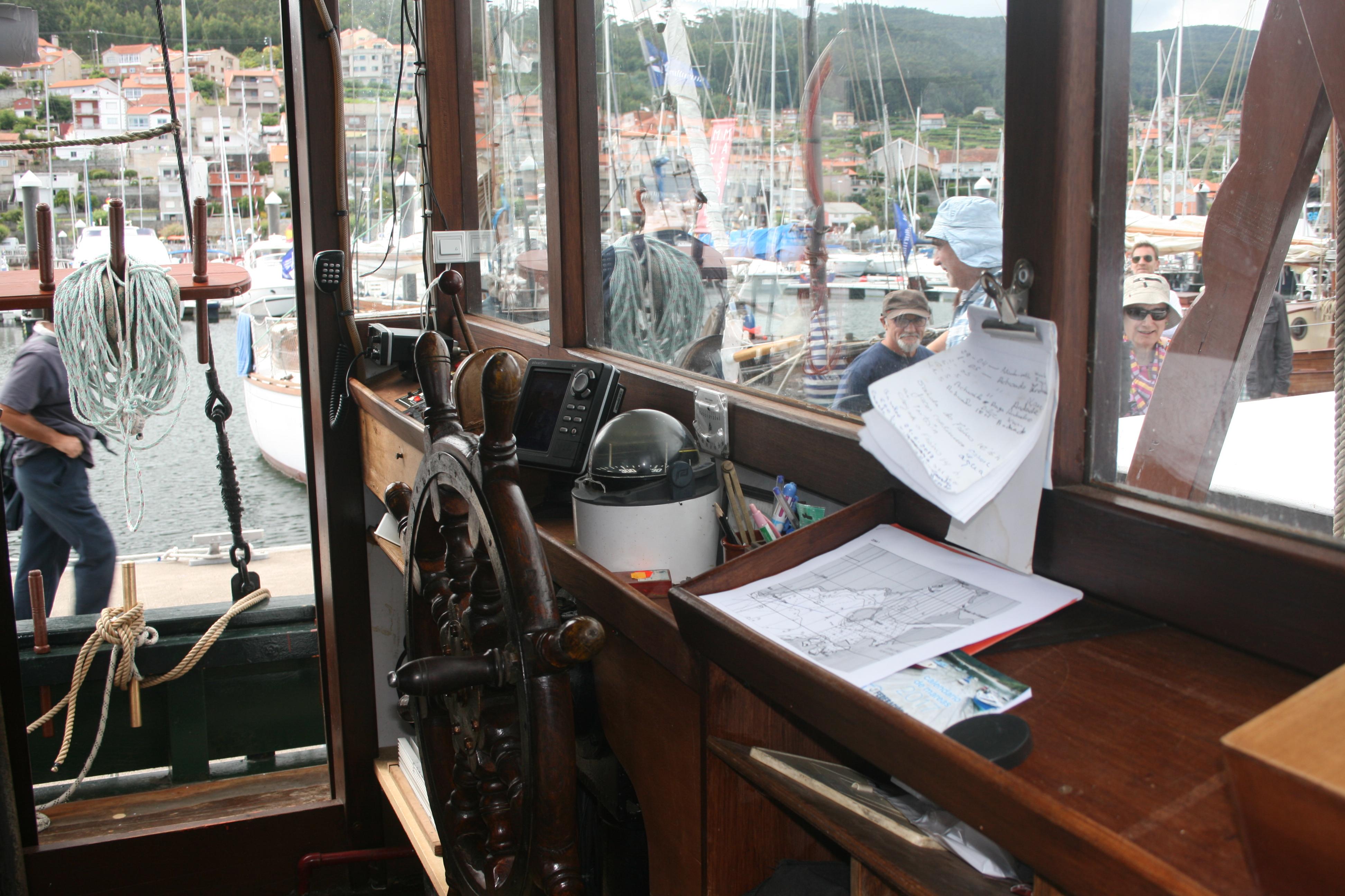 Timón barco