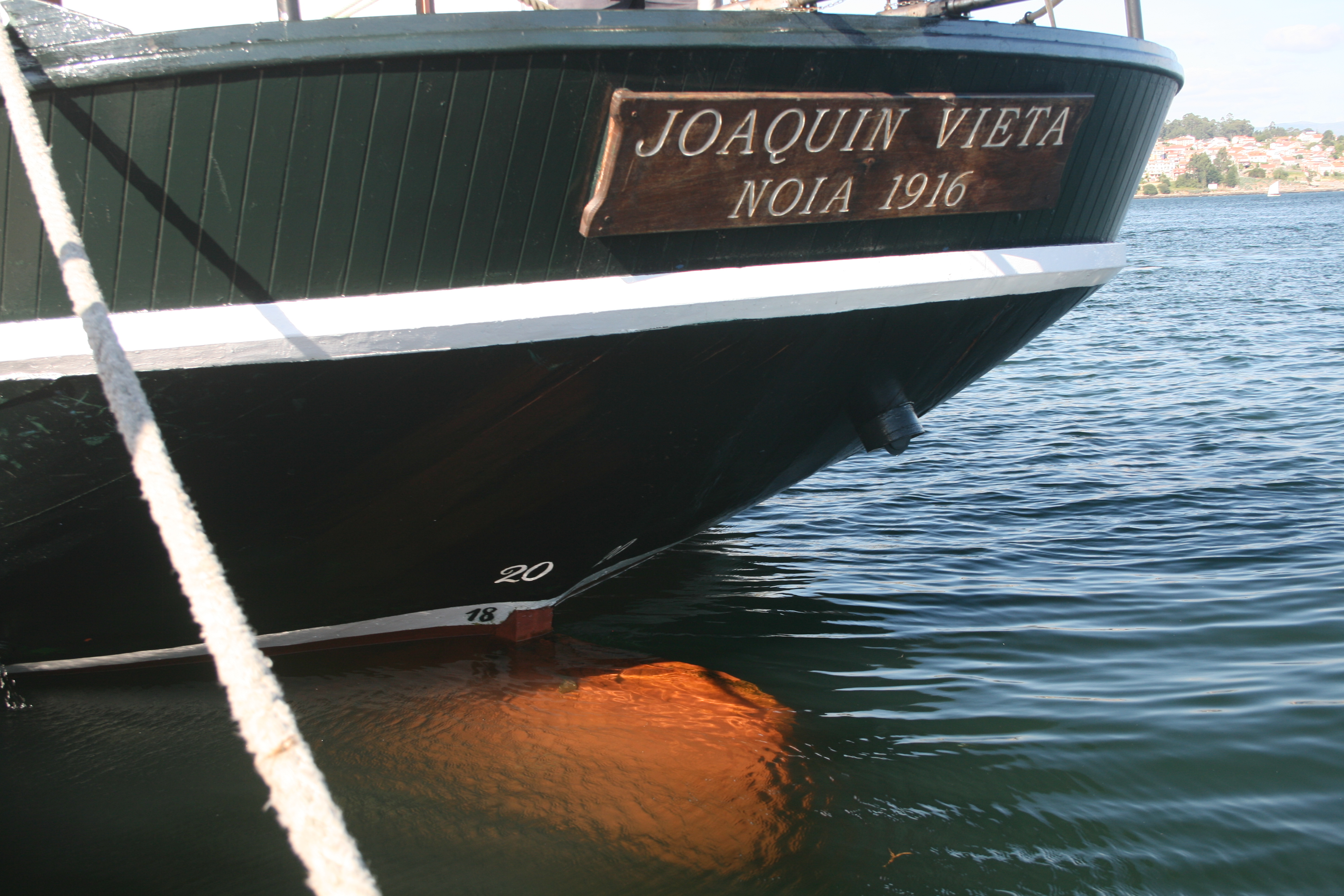 Proa barco