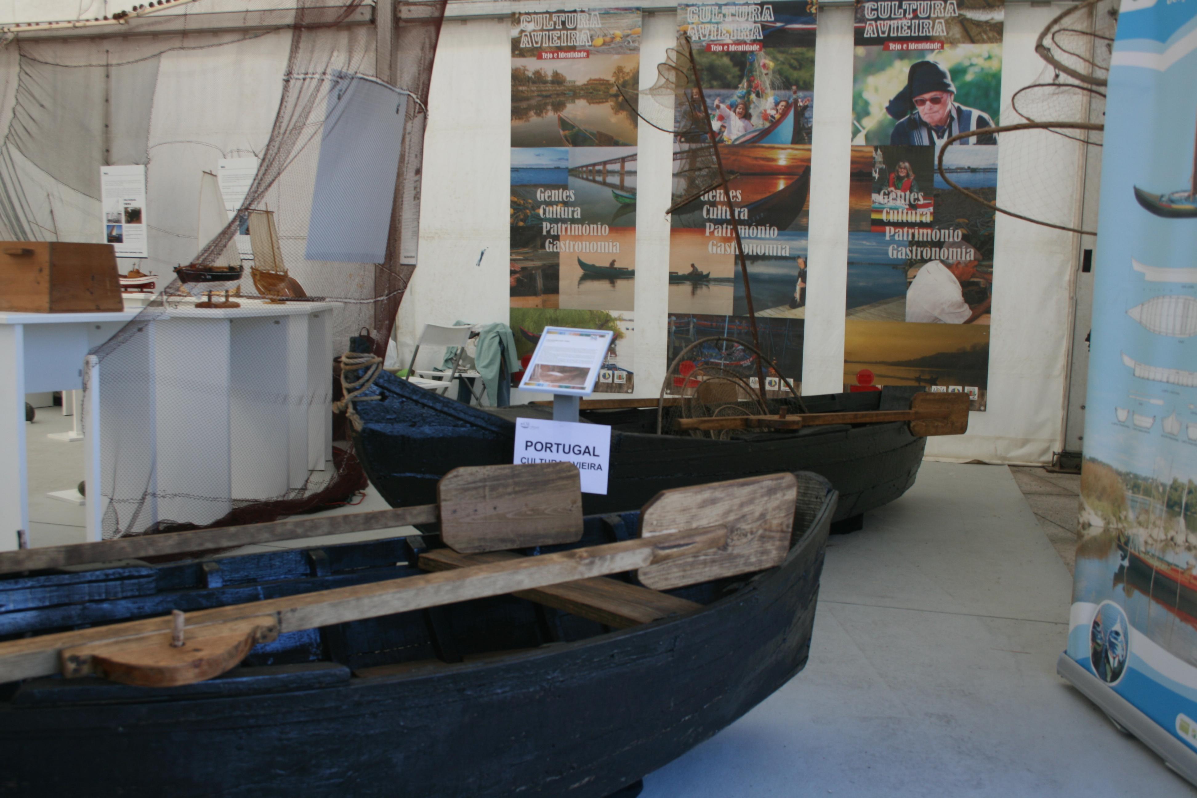 Barcas portuguesas. Encontro Embarcacións Tradicionais.