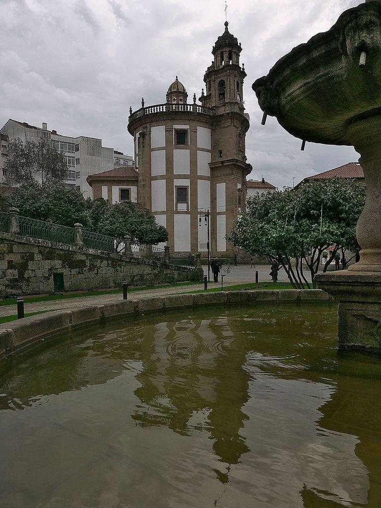 capela da peregrina camino portugués por la costa