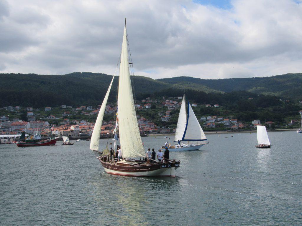Encuentro de embarcaciones