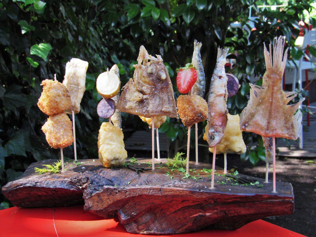 fritura de mar kike piñeiro