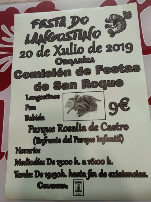 Festa do Langostino San Roque