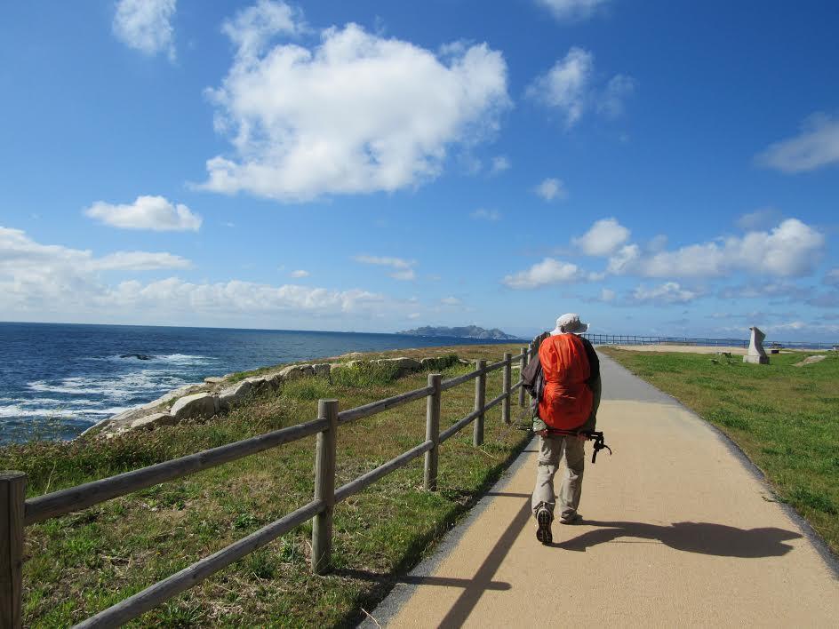 camino por la costa