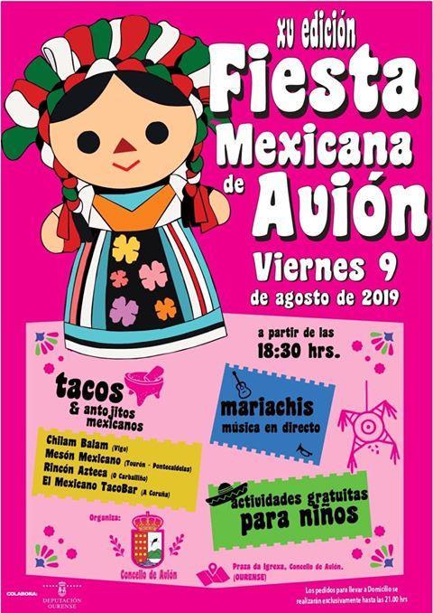 Festa mexicana de Avión 2019
