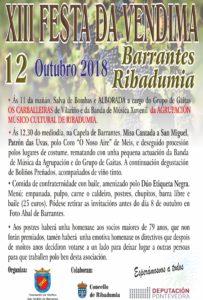 Festa da Vendimia Barrantes