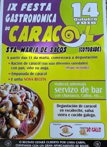 Festa gastronómica do Caracol - Cotobade