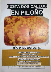 Festas dos callos en Piloño