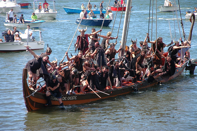 visitar vilagarcia vikinga