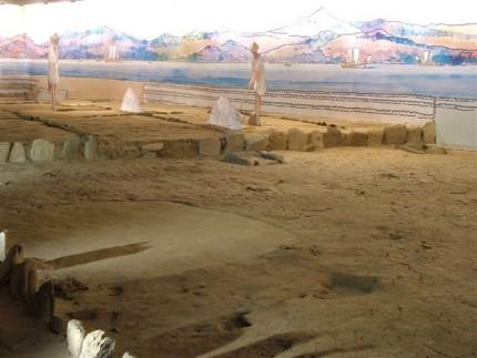 Salinas arqueológicas Vigo, salazón de pescado