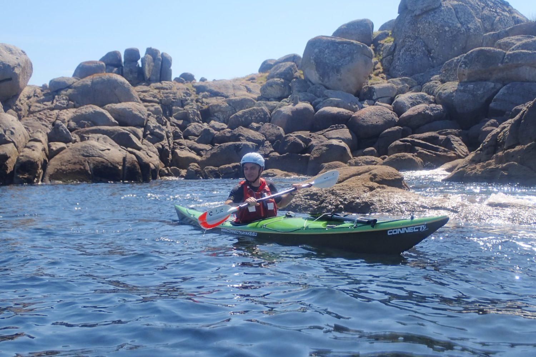 Alquiler de kayak en la rías Baixas