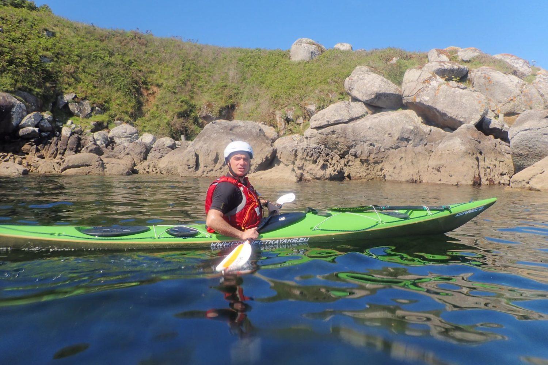 ruta en kayak ría de Pontevedra