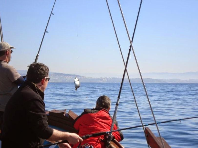 ir de pesca en Galicia