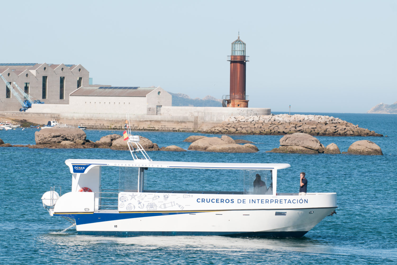 Paseo en barco Galicia