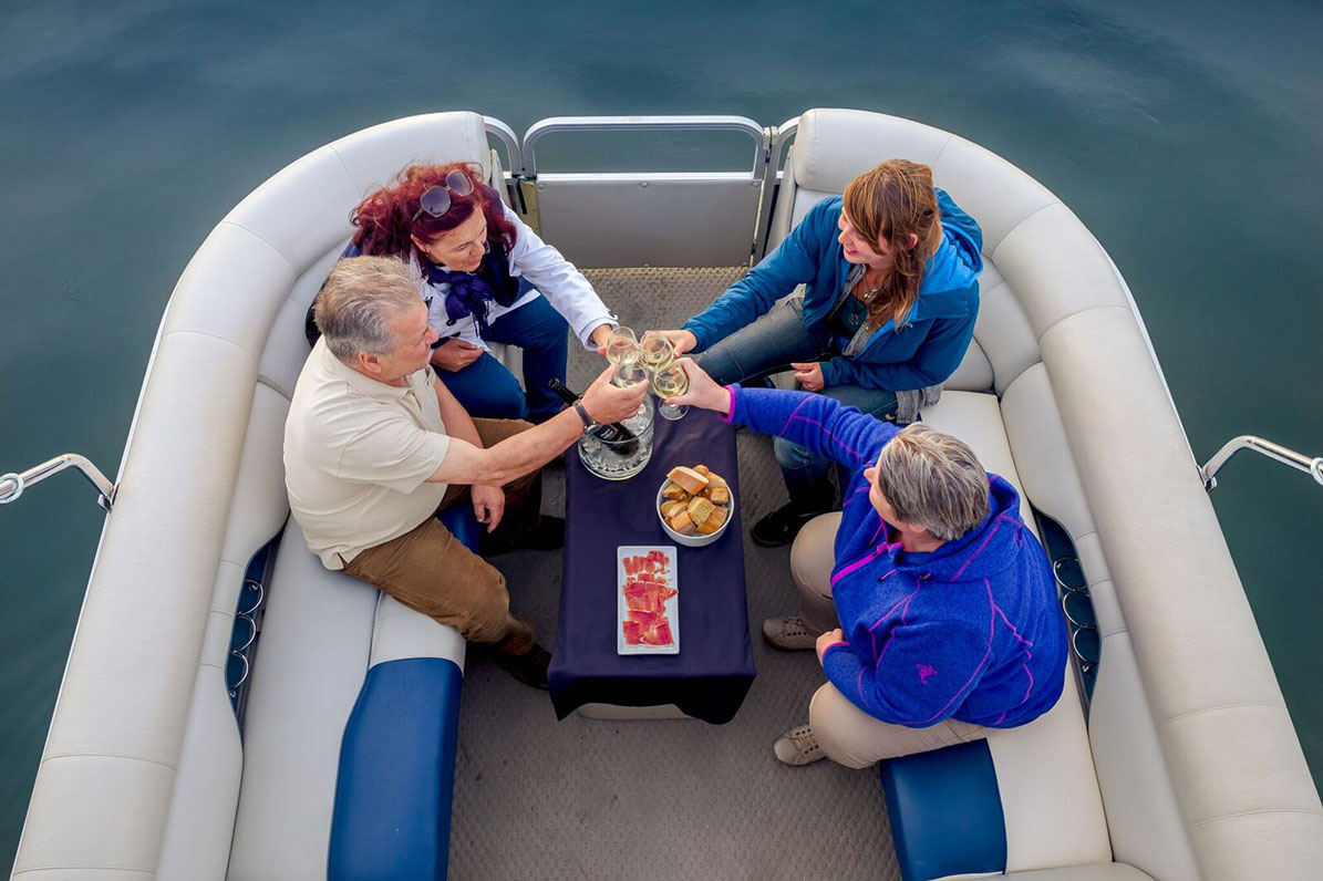 viaje por el Miño en barco