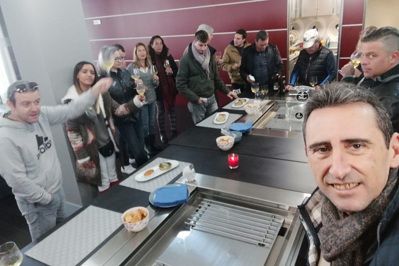 visita a una conservera en Galicia