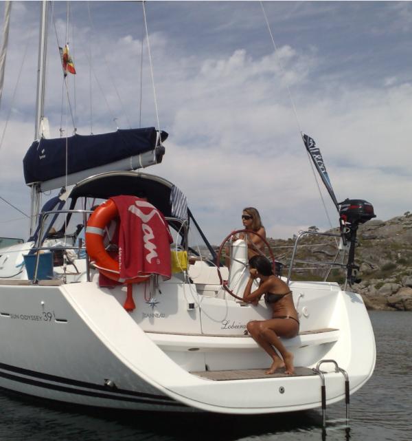 paseo en velero Pontevedra