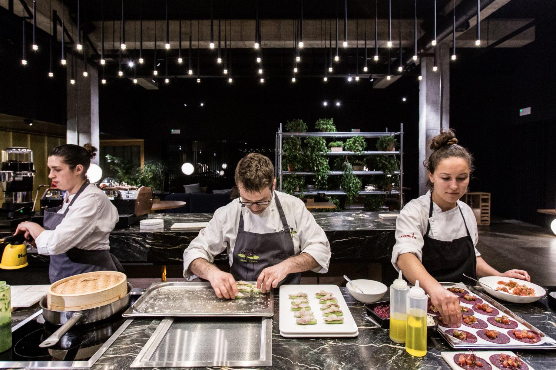 taller de cocina con Pepe Vieira