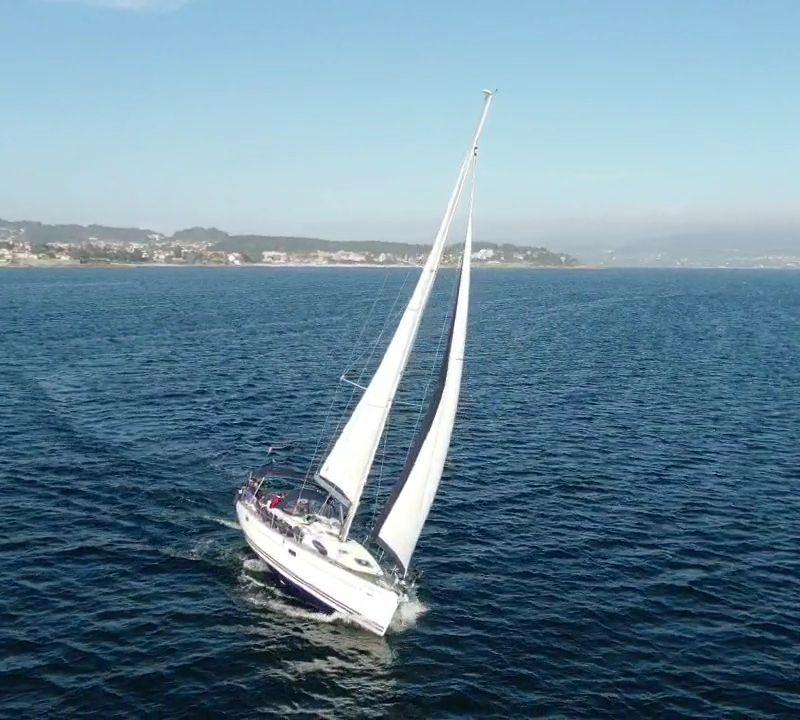 velero ría de pontevedra