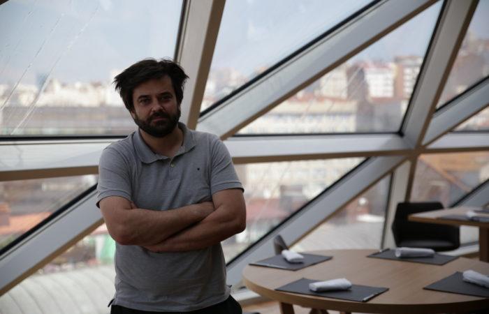 Alberto garcia chef de Silabario A Sede