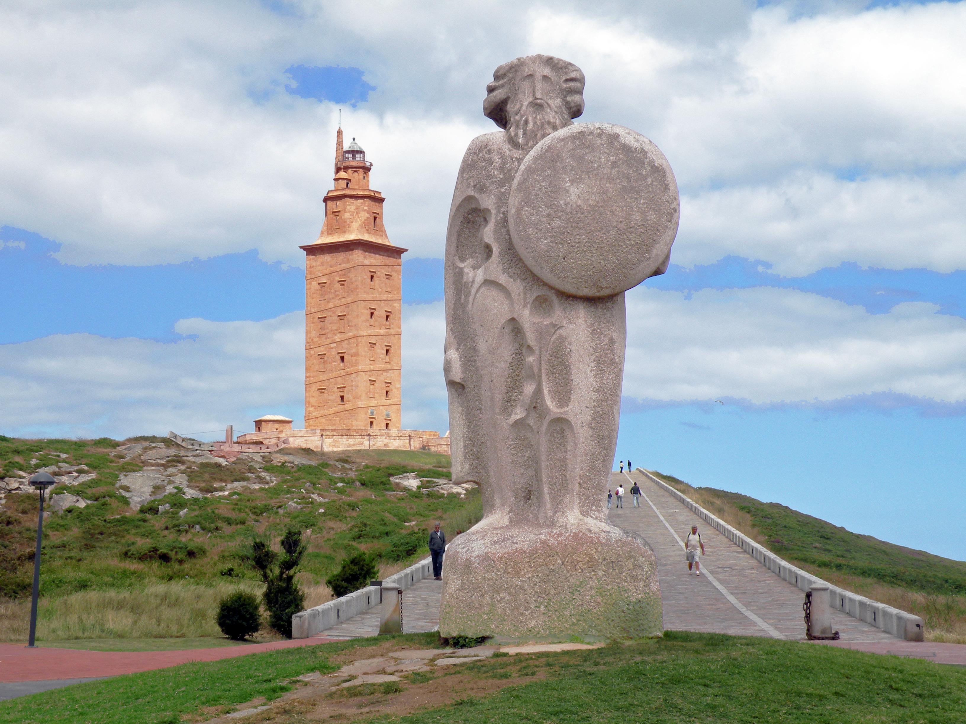 Faro Torre Hercules Coruña