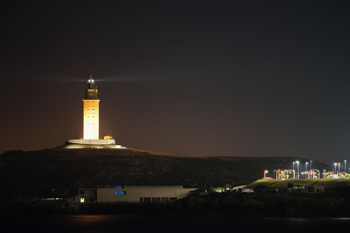 Faro torre de hercules coruña
