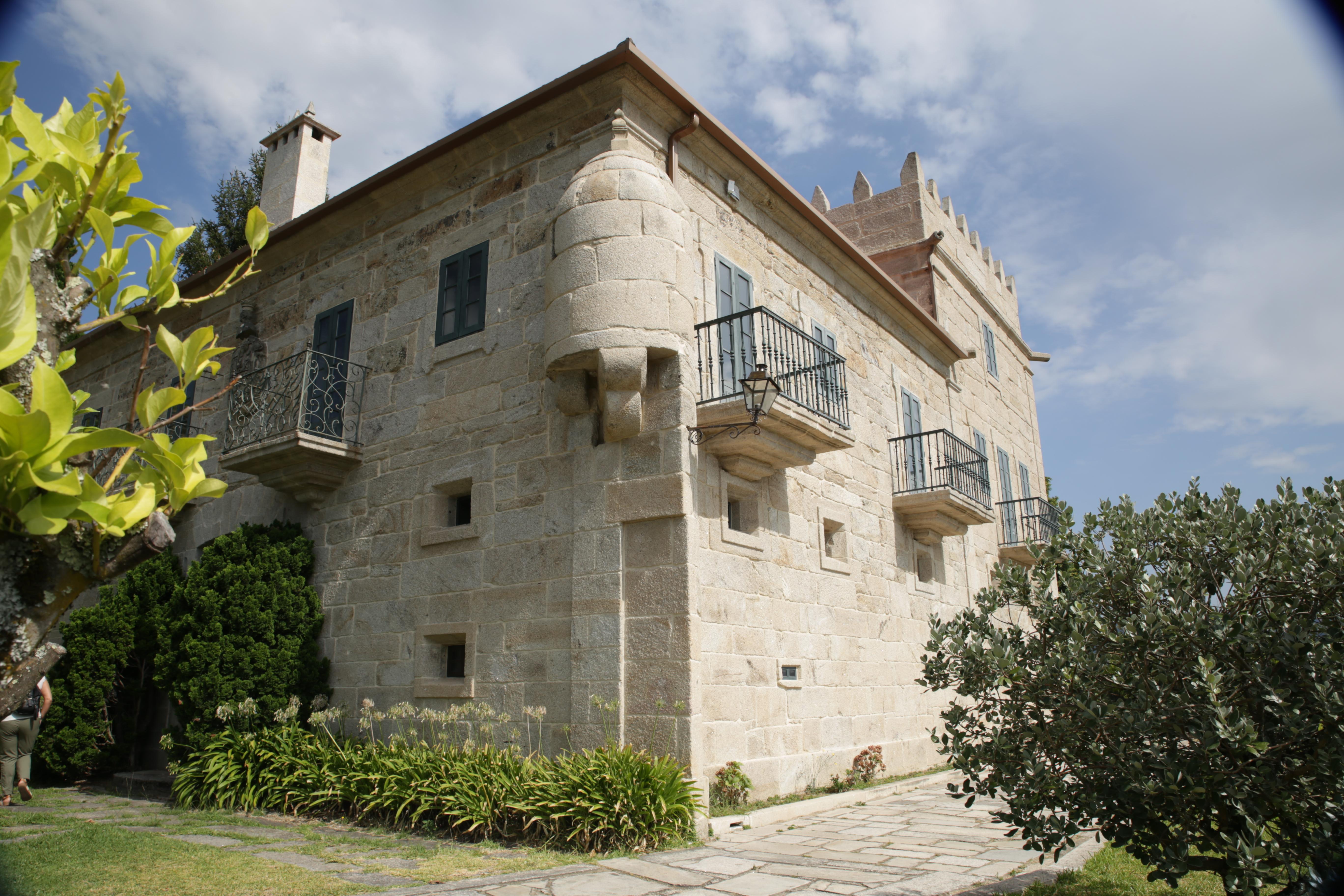 Pazo La Moreira sede de Marqués de Vizhoja