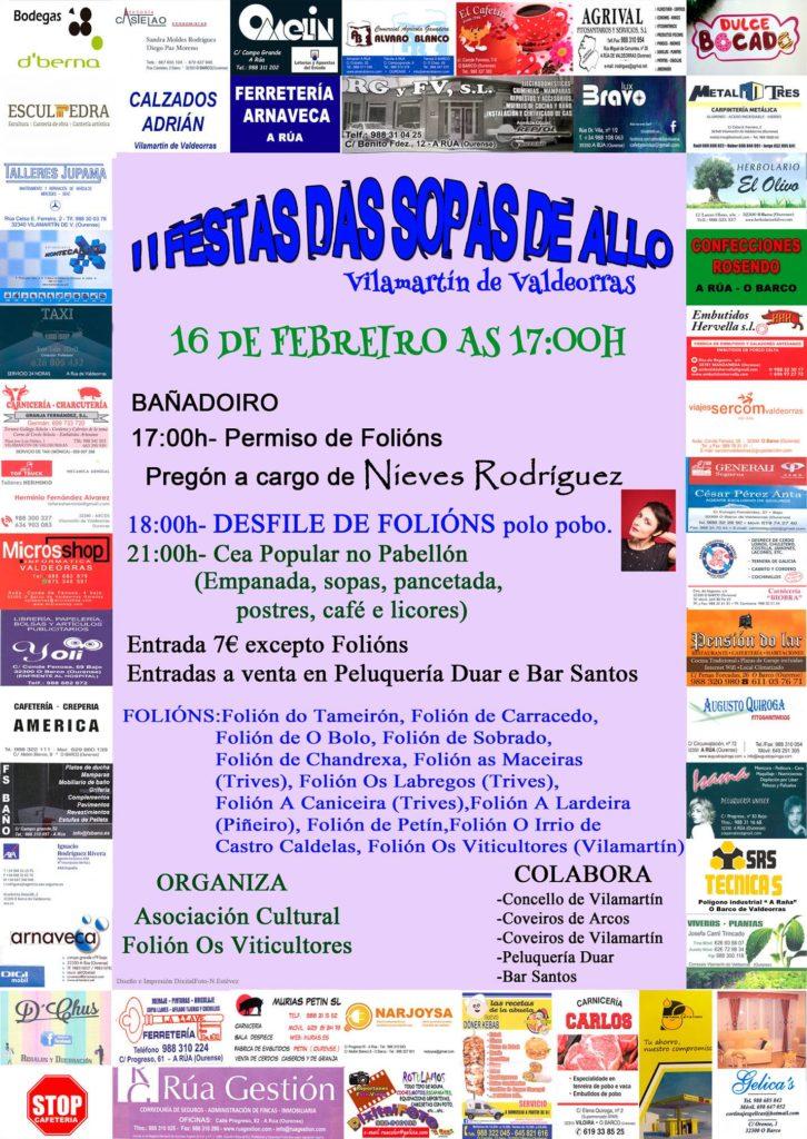 Fiestas gastronomicas en galicia en febrero 1