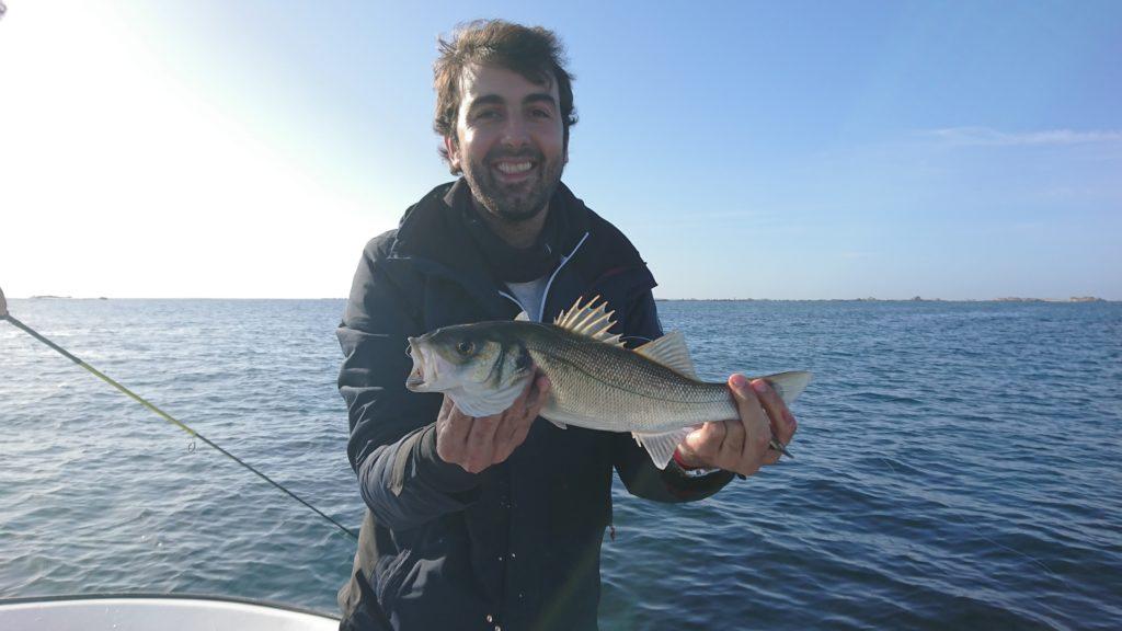 excursión de pesca lubina
