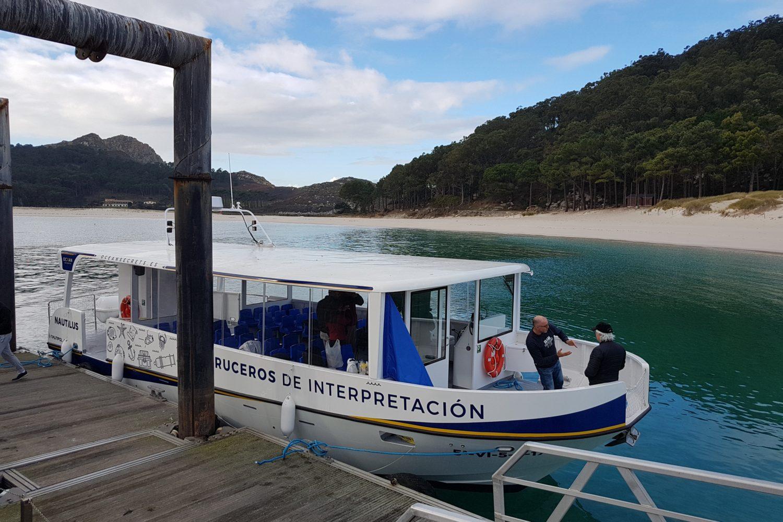 paseo en barco a Cïes