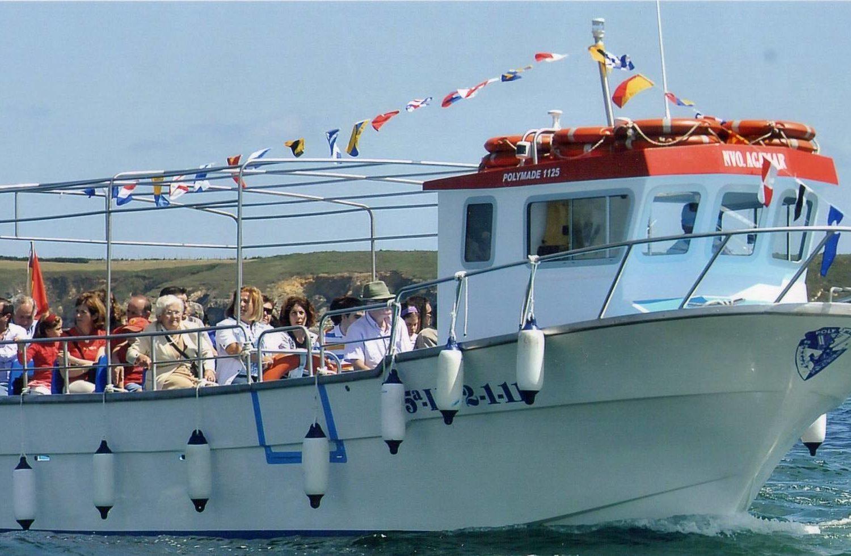 paseo en barco por Ribadeo