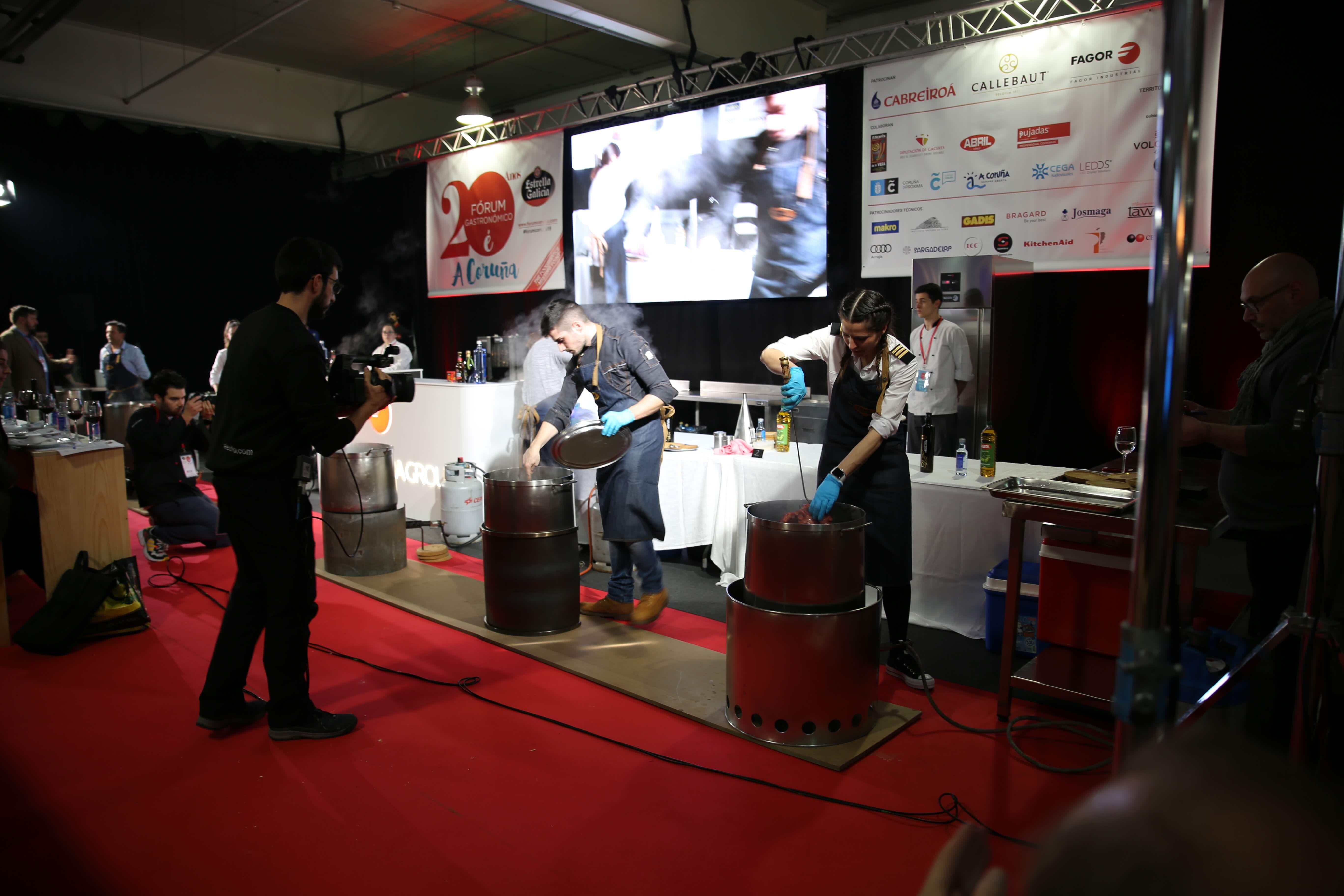 Concurso pulpeiras Forum Coruña 2019
