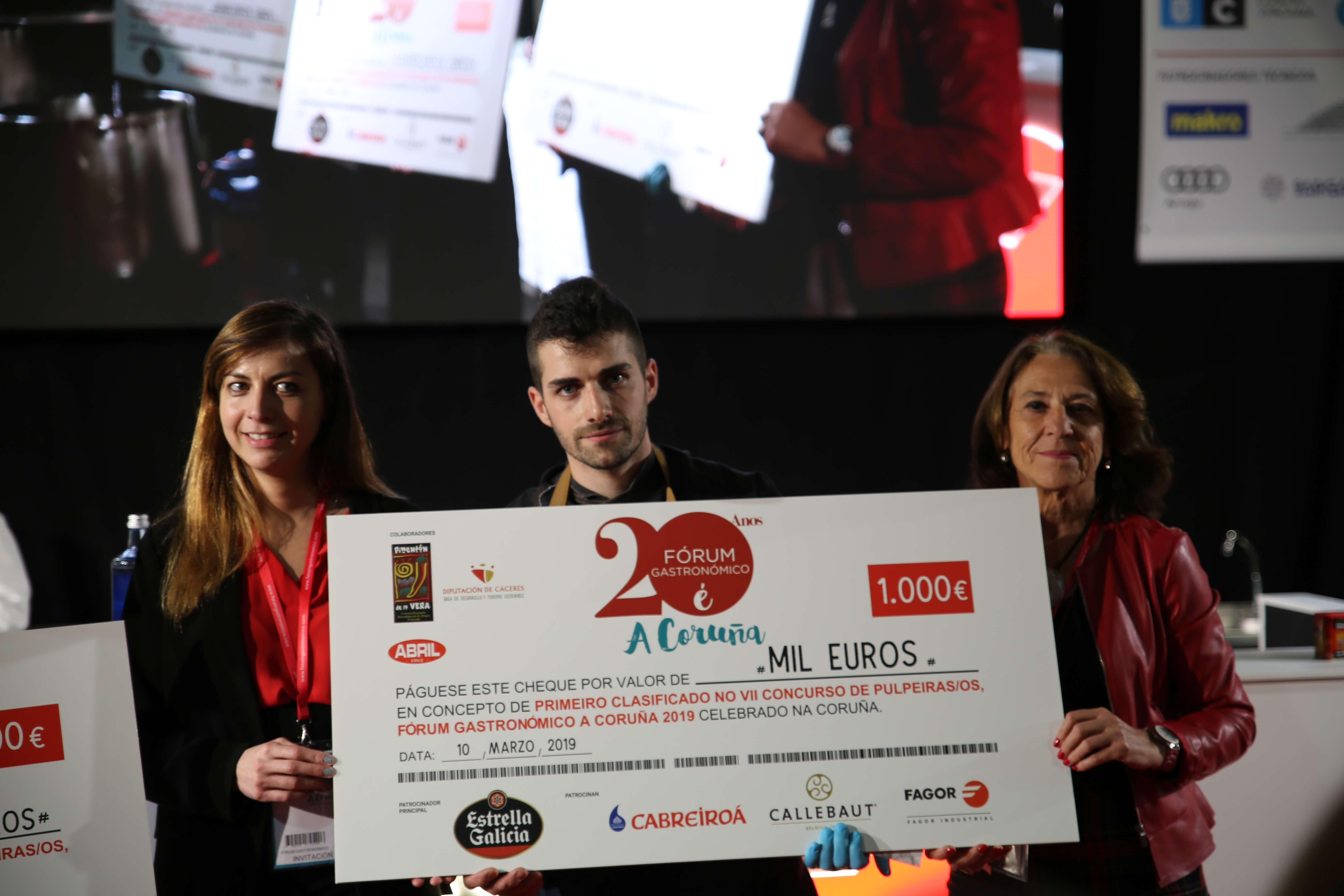 Olivier Fernandez Concurso pulpeiras Forum Coruña 2019