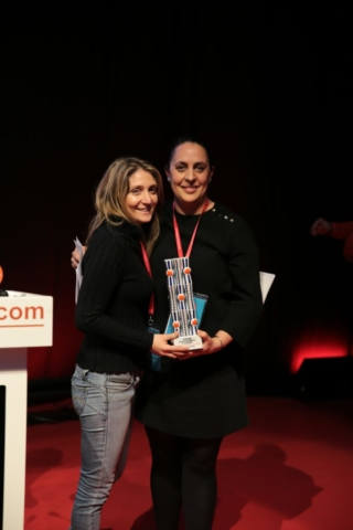Premio picadillo a grupo nove Forum Coruña 2019