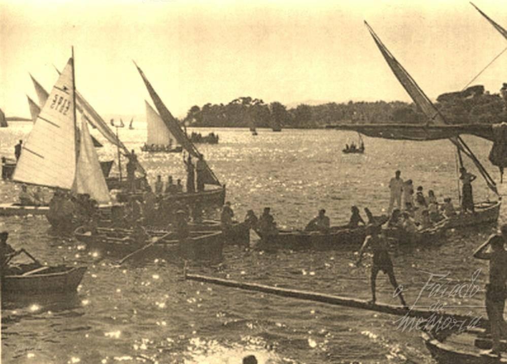 regata de botes en Carril