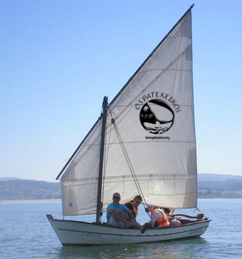 embarcación tradicional Sada