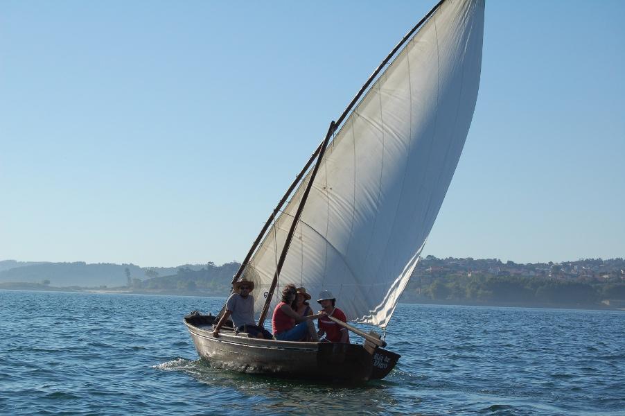 embarcaciones tradicionales Bote Ría de Vigo