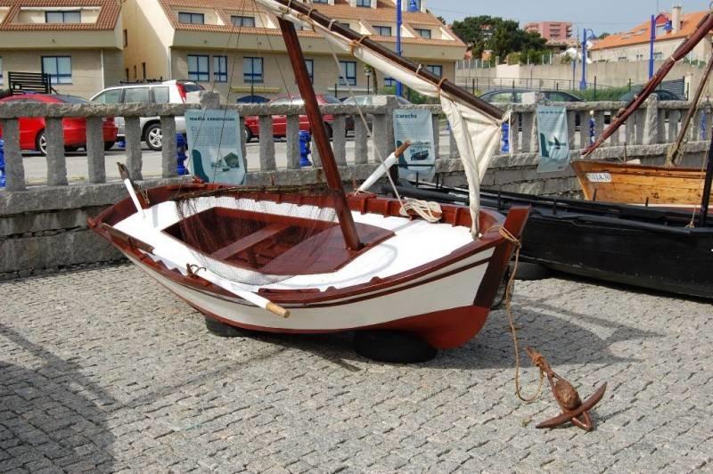 embarcaciones tradicional en Ferrol
