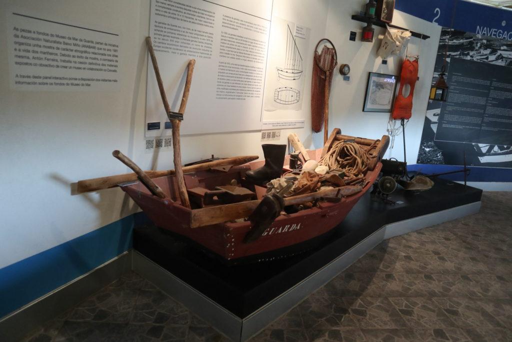 embarcacion tradicional gamela a guarda