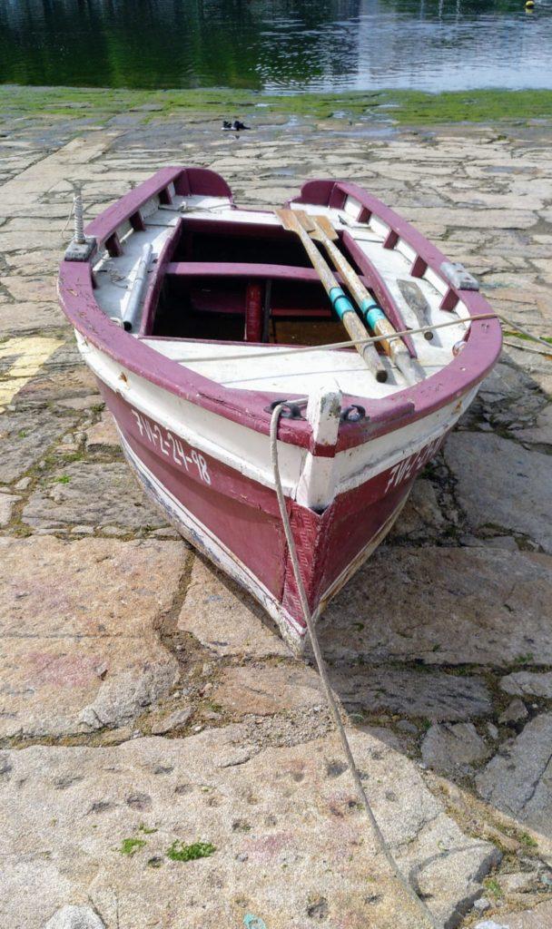 chalana lucia pontevedra embarcacion tradicional