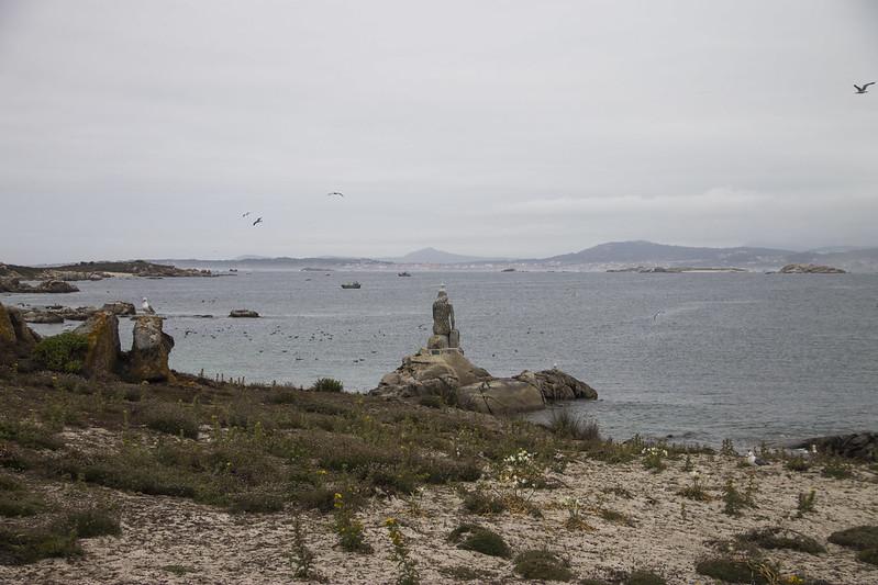Sirena isla de Sálvora