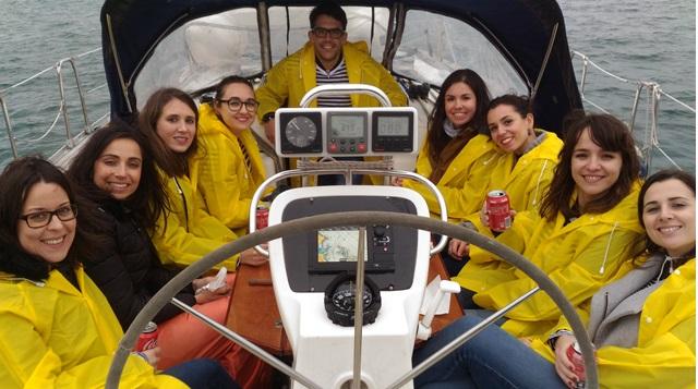 teambuilding regata en Galicia