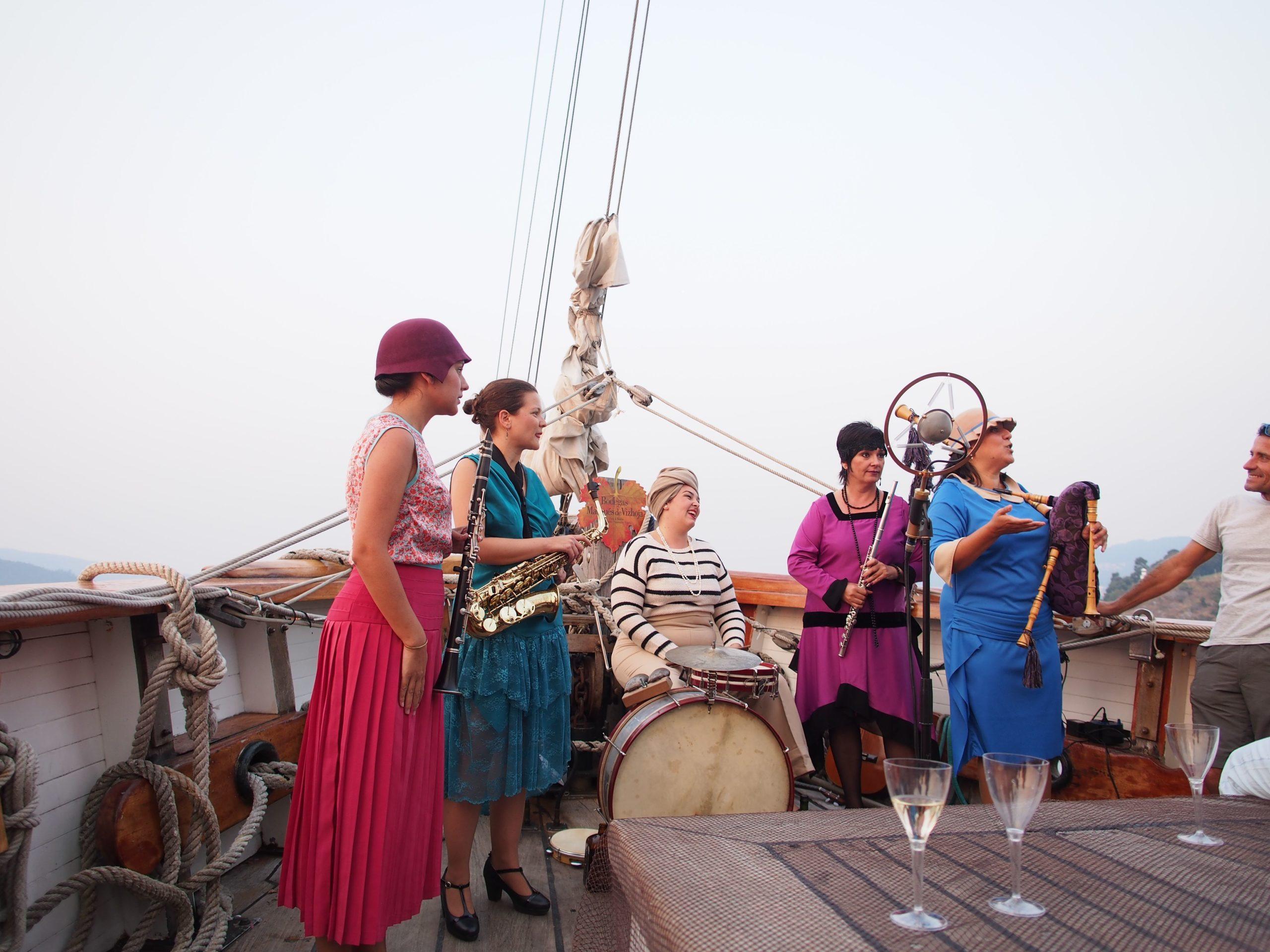 Concierto a bordo de Aureas - 12 de agosto 2016