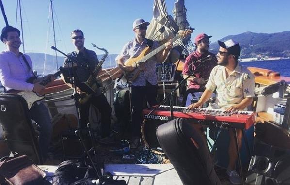 Concierto a bordo Juan Zelada Band - 11 de agosto 2018