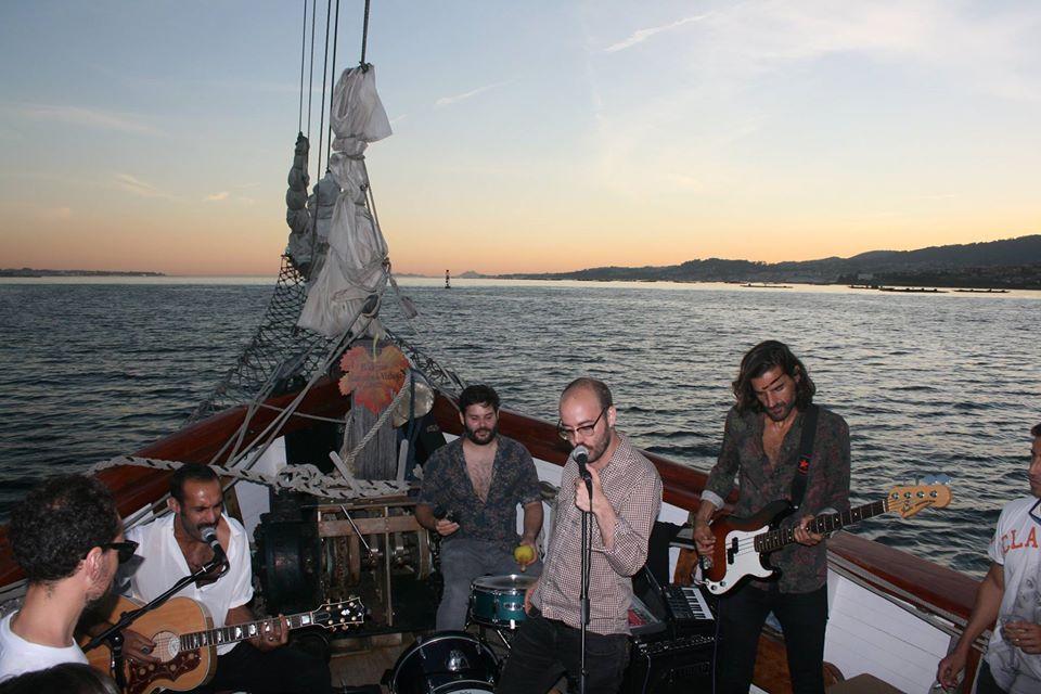 Concierto a bordo La Doble Fila - 11 de agosto 2017