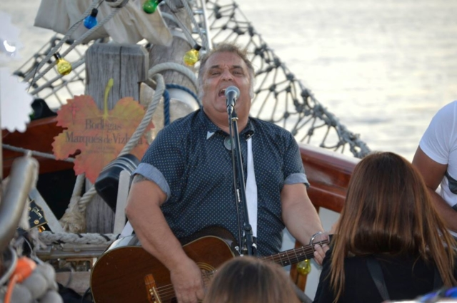 Concierto a bordo de Lou Reyes - 12 de agosto 2017