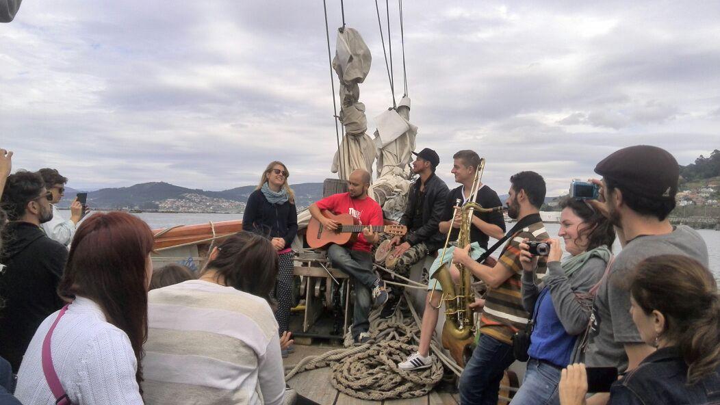 Concierto a bordo Sunnare - presentación inauguración festival