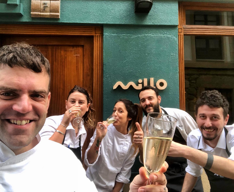 Restaurante Millo Orzán en Coruña