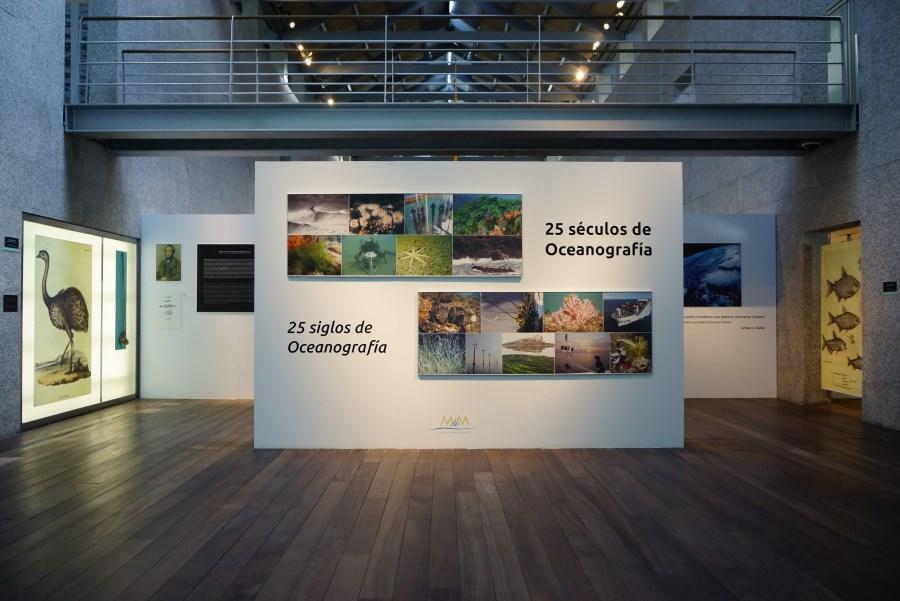 Museo Mar Galicia sala investigación océanos