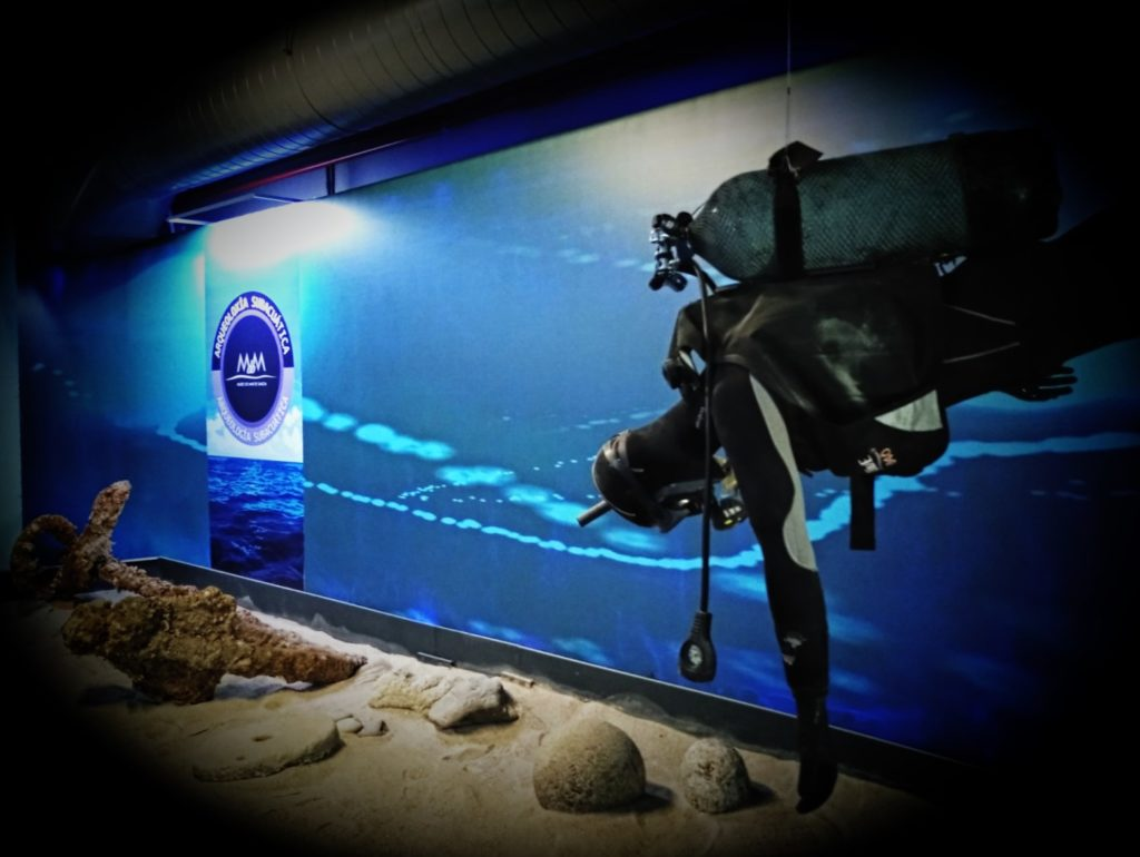 Museo Mar Galicia Exposición subacuática
